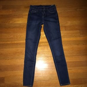TOPSHOP MOTO skinny jeans size 25/32